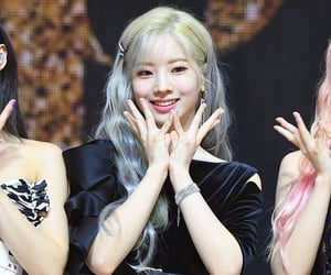 JYP, sana, and kim dahyun image