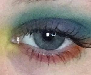 aesthetic, eyeshadow, and cherry image