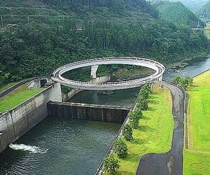 circular, honshu island, and japan image