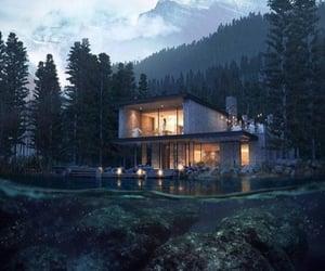 architecture, nature, and villa image
