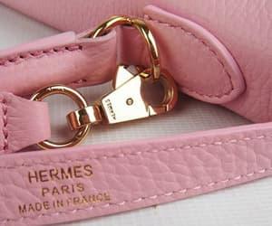 pink, hermes, and bag image