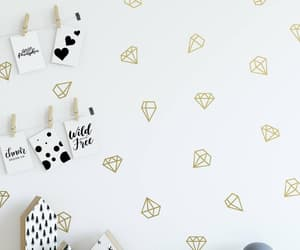 etsy, nursery wall decal, and star decals image