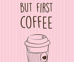 coffee, pink, and wallpaper image