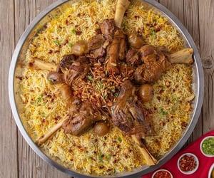 drink, hungry, and chicken biryani image