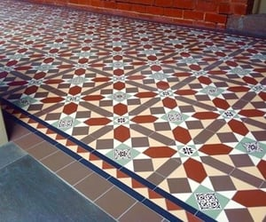 tessellated tiles, tessellated tile patterns, and period tiles melbourne image