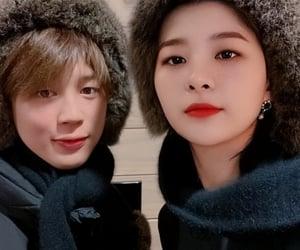 couple, bangtanvelvet, and red velvet image