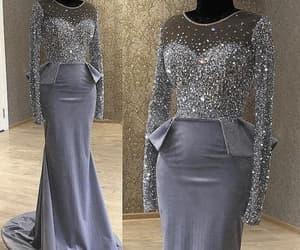 vestido de festa, beaded evening dress, and robe de soirée image