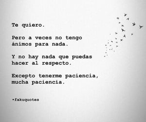 amor, frases, and paciencia image