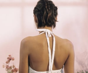 adorable, back, and braids image