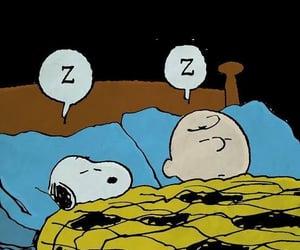 adorable, sleep, and snoopy image