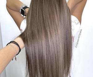 color, long hair, and ombre image