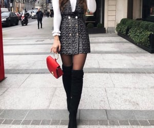 clothes, autumn look, and fall image
