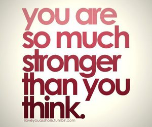 strong, quotes, and text image