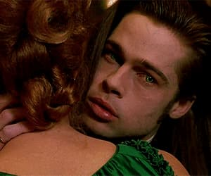 brad pitt, gif, and Interview with the Vampire image