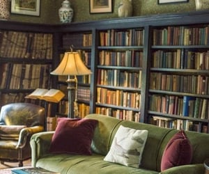 beautiful, living, and bookcase image