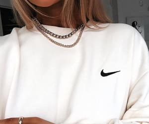 fashion, nike, and hoodie image