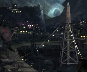 city, pandora, and lights image