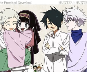 anime, hunter x hunter, and kawaii image