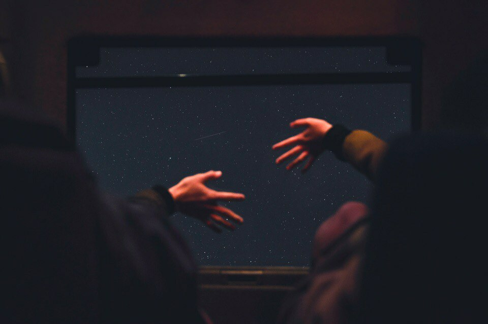 hands, stars, and photography image