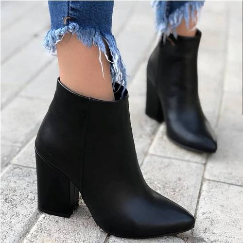 ankle boots, tan boots, and camel boots image