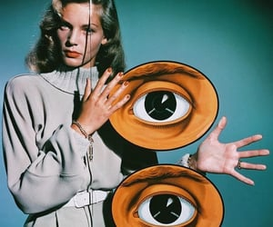 Lauren Bacall, vintage, and 1940s image