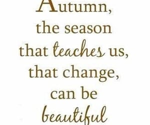 autumn, change, and quotes image