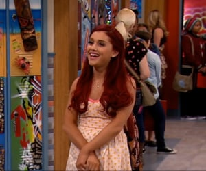laugh, ariana grande, and red hair image