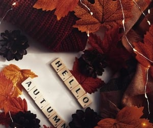 aesthetic, autumn, and September image