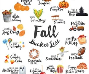 autumn, fall, and pattern image