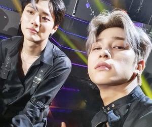x1, cho seungyoun, and kim wooseok image