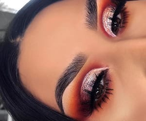 makeup inspiration, warm tones, and full coverage image