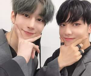 x1, eunsang, and seungwoo image