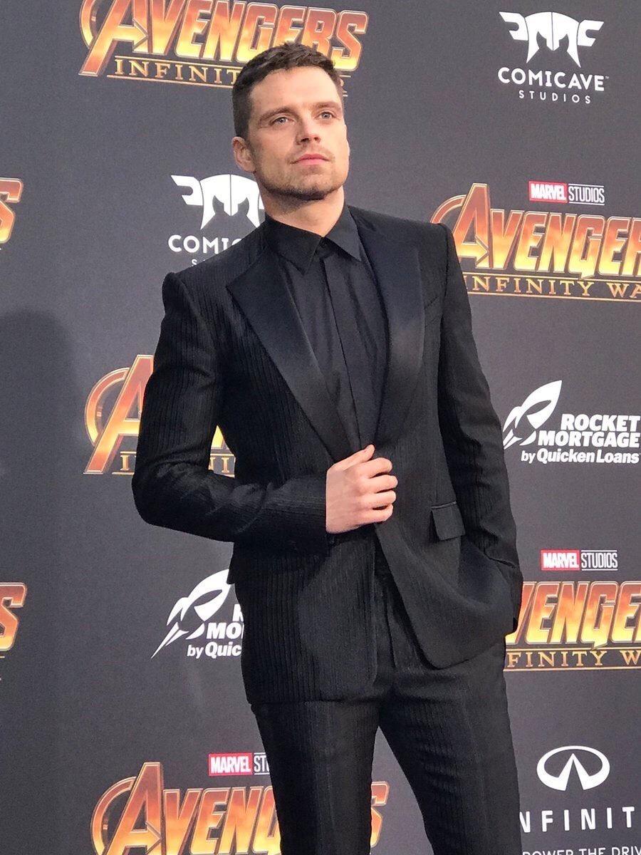 sebastian stan, Marvel, and Avengers image