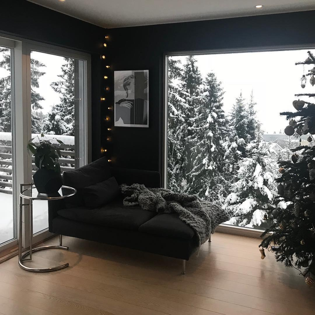 winter, interior, and snow image
