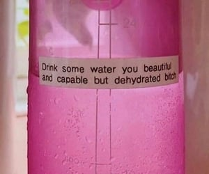 beautiful, bottle, and water image
