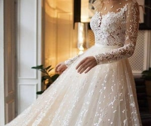 evening dress, formal, and lace image