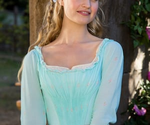 cinderella, princess, and lilly collins image