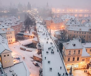 snow, architecture, and city image