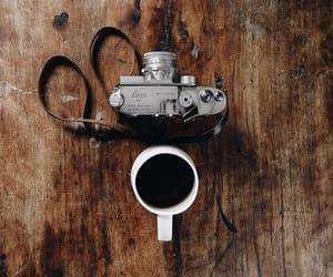 camera and coffee image