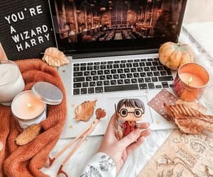 autumn and harry potter image
