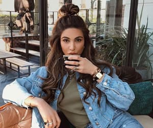 brunette, style, and fashion image