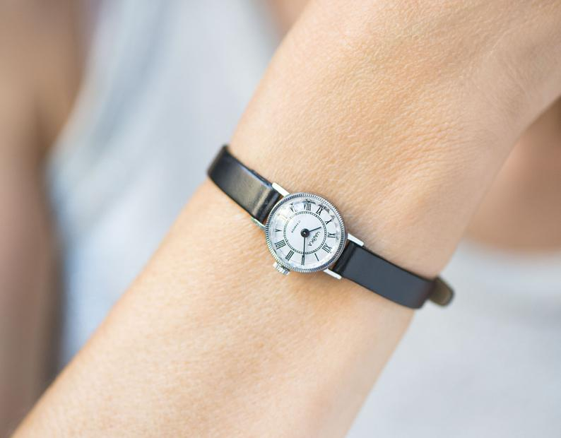 etsy, minimalist watch, and very small watch image
