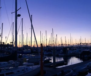 harbour, la, and ocean image