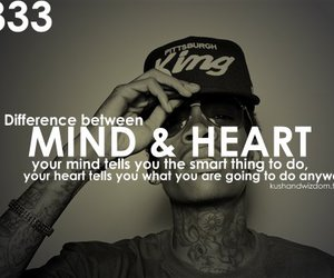 heart, mind, and quote image
