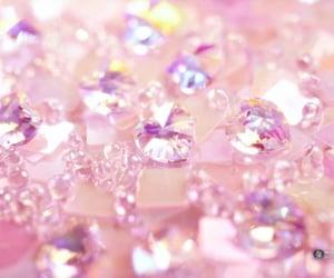 pink, diamond, and glitter image