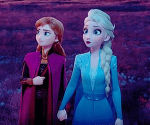 animation, anna, and frozen 2 image