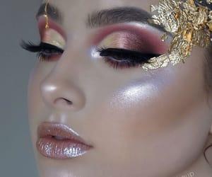 glitter and make-up image
