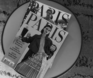 b&w, revista, and black and white image