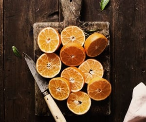food, oranges, and photography image