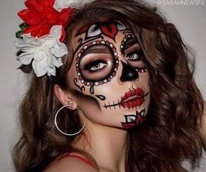 Halloween, fall, and makeup image